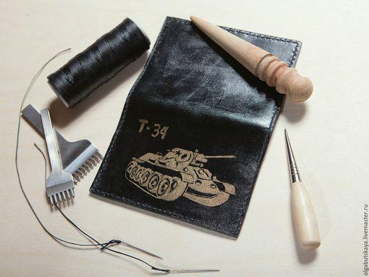 Подарки для мужчин, ручной работы. Ярмарка Мастеров - ручная работа. Купить Обложка для паспорта. Handmade. Комбинированный, обложка на паспорт