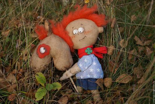 Коллекционные куклы ручной работы. Ярмарка Мастеров - ручная работа. Купить Авторская интерьерная кукла Галопом по Европам,или Привет из Ирландии. Handmade.