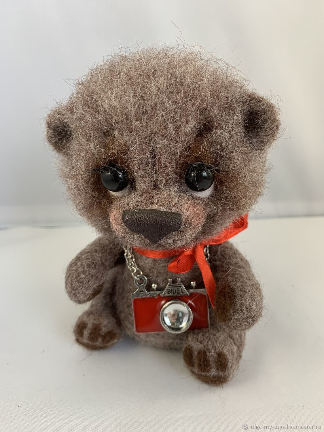 Bear Basic, Felted Toy, Moscow,  Фото №1