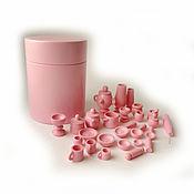 Куклы и игрушки handmade. Livemaster - original item Set of dinnerware (pawns) 27 items in the barrel. Handmade.