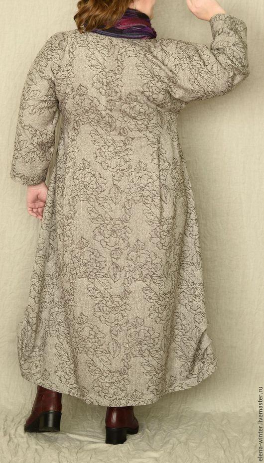 шерстяное платье большого размера купить
