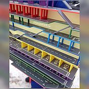 Для дома и интерьера handmade. Livemaster - original item Garage for cars. Parking. Rack.. Handmade.