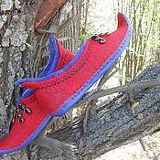 Обувь ручной работы handmade. Livemaster - original item Sneaker East is a delicate matter, Petrushka. Handmade.