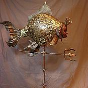 Для дома и интерьера ручной работы. Ярмарка Мастеров - ручная работа Золотая рыбка. Handmade.