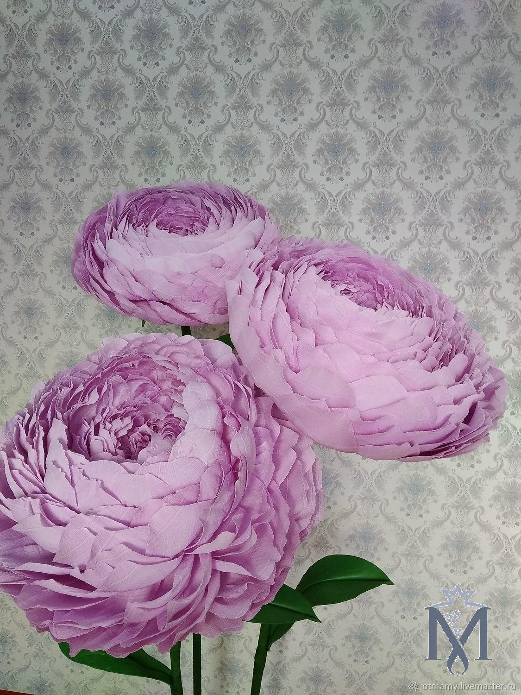 Стойка из трех пионов .Продажа.Аренда, Цветы, Москва,  Фото №1