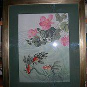 Картины и панно ручной работы. Ярмарка Мастеров - ручная работа Рыбки богатства. Handmade.