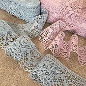 Материалы для творчества handmade. Livemaster - original item Lace linen exquisite