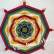 Фен-шуй и эзотерика ручной работы. Ярмарка Мастеров - ручная работа Мандала Ojo de Dios. Handmade.