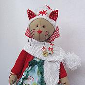 Куклы и игрушки ручной работы. Ярмарка Мастеров - ручная работа Кошечка  POLLY. Handmade.