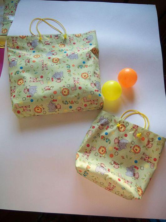 """Детская ручной работы. Ярмарка Мастеров - ручная работа. Купить Интерьерные сумочки """"Мама и детки"""".. Handmade. Салатовый"""