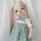 Куклы и игрушки ручной работы. Ярмарка Мастеров - ручная работа зайка Алевтина. Handmade.