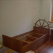Для дома и интерьера ручной работы. Ярмарка Мастеров - ручная работа Кровать в морском стиле. Handmade.