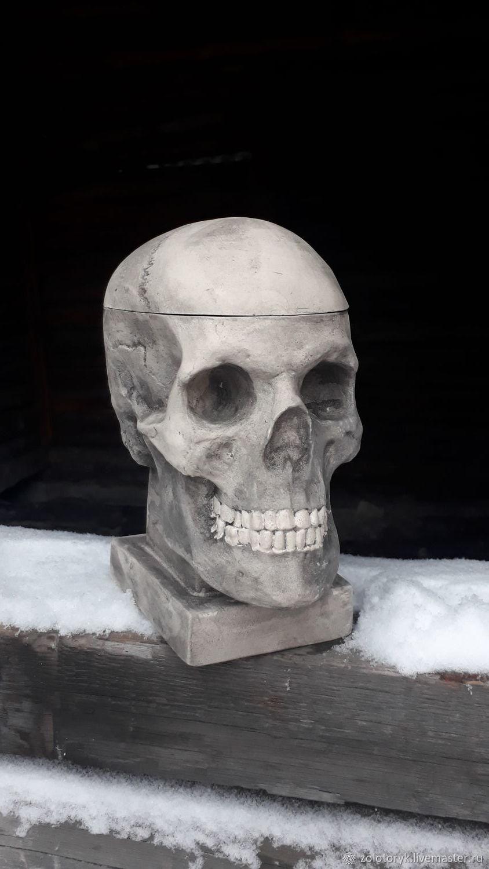 Skull box, Box, Bobrov,  Фото №1