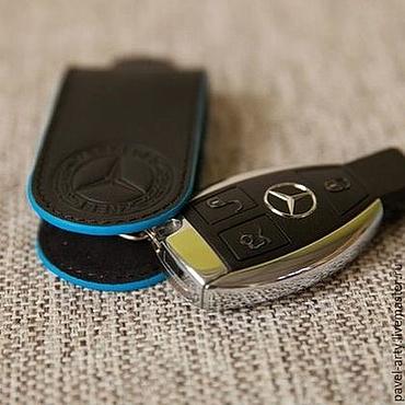 Аксессуары ручной работы. Ярмарка Мастеров - ручная работа брелок для ключа Mercedes. Handmade.