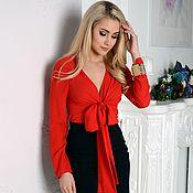 Blouses handmade. Livemaster - original item Women`s blouse, dressy blouse. Handmade.