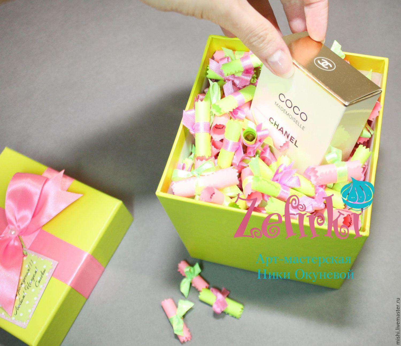 Подарок в коробочках пожелания 41