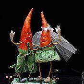 Куклы и игрушки ручной работы. Ярмарка Мастеров - ручная работа Люди-моркови))))). Handmade.