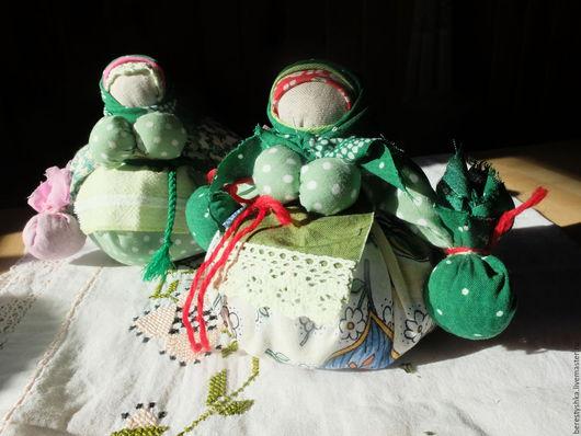 Народные куклы ручной работы. Ярмарка Мастеров - ручная работа. Купить кубышка - травница. Handmade. Душистые травы, мята