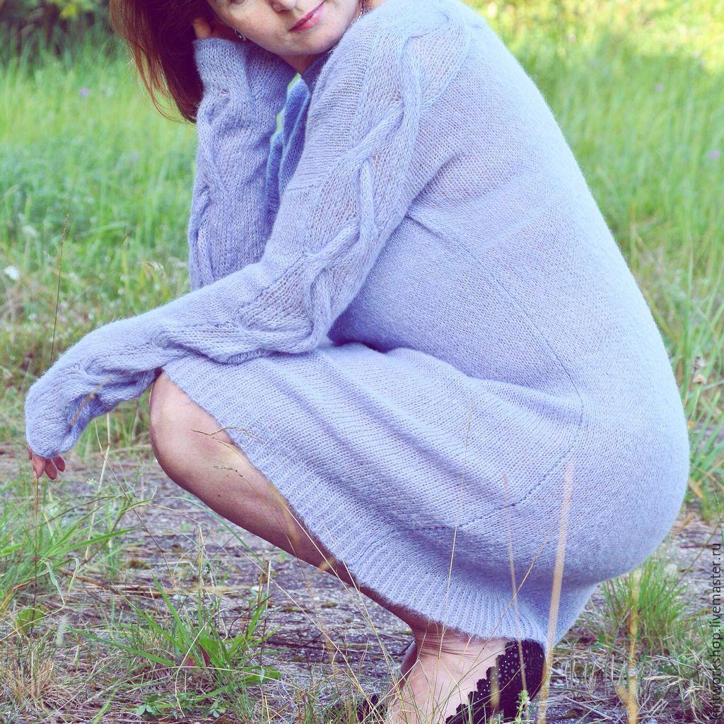 Платье из альпаки