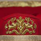 Русский стиль handmade. Livemaster - original item Forty-Kargopol - headdress. Handmade.