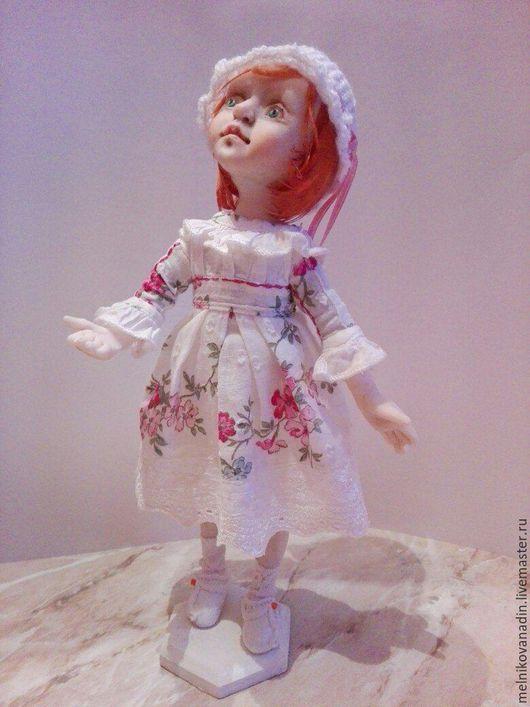Коллекционные куклы ручной работы. Ярмарка Мастеров - ручная работа. Купить Клара. Handmade. Кукла ручной работы, комбинированный