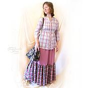 Одежда handmade. Livemaster - original item Long skirt