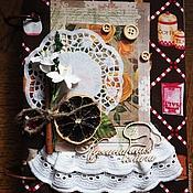 Канцелярские товары ручной работы. Ярмарка Мастеров - ручная работа Кулинарная книга в мягкой обложке. Handmade.