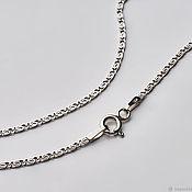 Украшения handmade. Livemaster - original item Rhodium plated chain