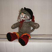 Куклы и игрушки ручной работы. Ярмарка Мастеров - ручная работа Кот в сапогах. Handmade.