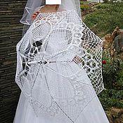 Свадебный салон ручной работы. Ярмарка Мастеров - ручная работа Свадебный зонт. Handmade.