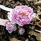 Диадемы, обручи ручной работы. Ярмарка Мастеров - ручная работа. Купить Повязка с розовым пионом для девочки. Handmade. Бледно-розовый