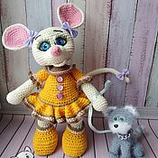 Мягкие игрушки ручной работы. Ярмарка Мастеров - ручная работа МК Кошки-мышки. Handmade.