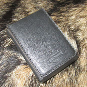 Сумки и аксессуары handmade. Livemaster - original item Compact wallet. HD.  Black. Handmade.