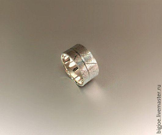 Кольца ручной работы. Заказать кольцо из серебра. Авторское кольцо. Необычное кольцо. BigJoe. Ярмарка Мастеров. Лист, серебро 925 пробы