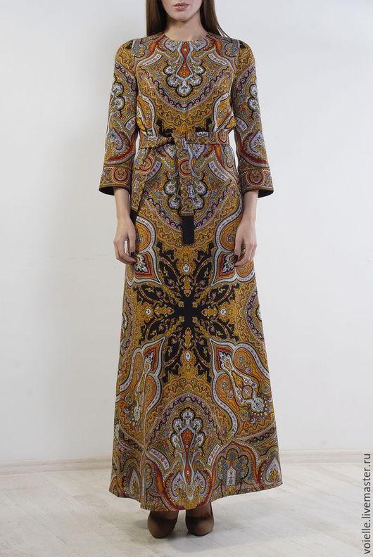 платье из павлопосадских платков купить, одежда из платков, платье из платков фото, дизайнерские платья 2015, одежда в народном стиле, православная одежда купить