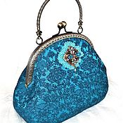 Сумки и аксессуары handmade. Livemaster - original item Evening bag / cosmetic bag on the clasp