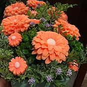 Букеты ручной работы. Ярмарка Мастеров - ручная работа Букеты: цветы из мыла. Handmade.