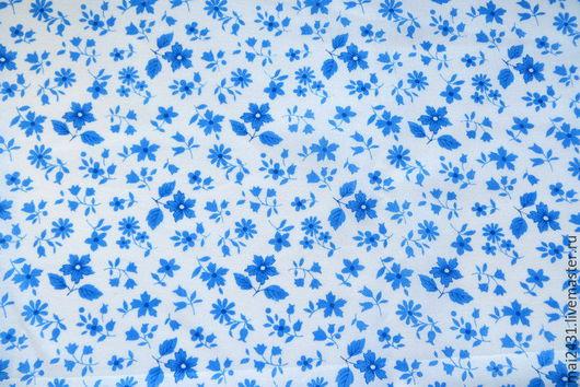 Ткань цветочки хлопок