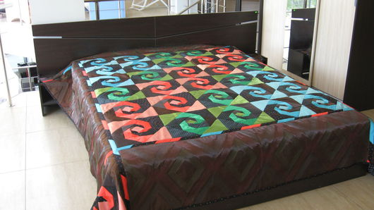 Текстиль, ковры ручной работы. Ярмарка Мастеров - ручная работа. Купить Покрывало стеганое Тысяча и одна ночь. Handmade. Разноцветный