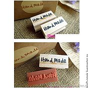 """Инструменты для скрапбукинга ручной работы. Ярмарка Мастеров - ручная работа Печать Штамп """"Hand Made"""". Handmade."""