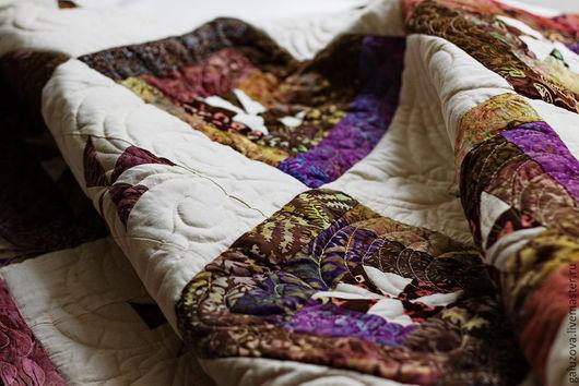 Текстиль, ковры ручной работы. Лоскутное покрывало