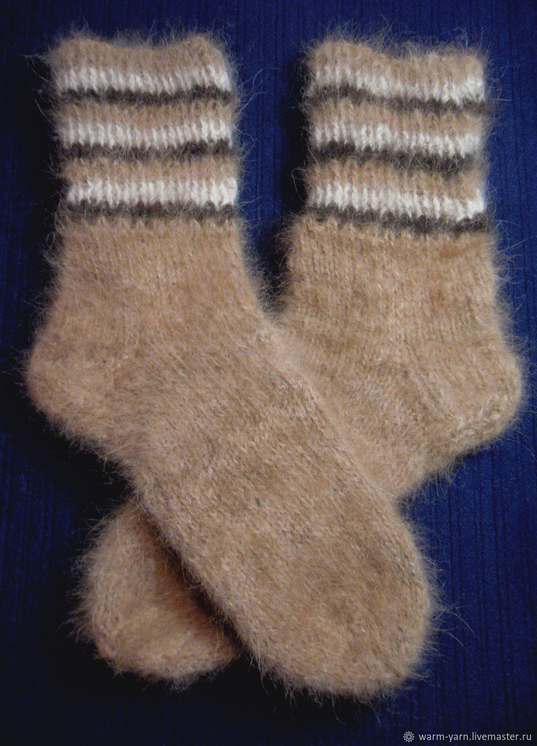 Women's knitted socks, Socks, Klin,  Фото №1