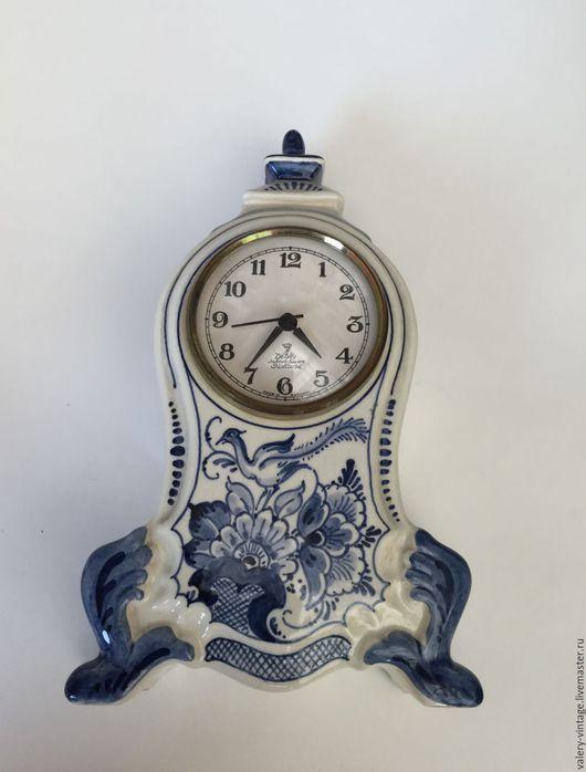 Винтажные сувениры. Ярмарка Мастеров - ручная работа. Купить Винтажная часы, Голландия, 1986г.. Handmade. Винтаж, голландский стиль, фарфор