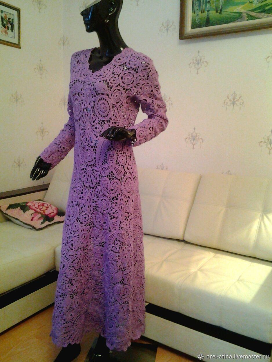 dfd3d0e9982 Платья ручной работы. Ярмарка Мастеров - ручная работа. Купить Платье  Сиреневая нежность.
