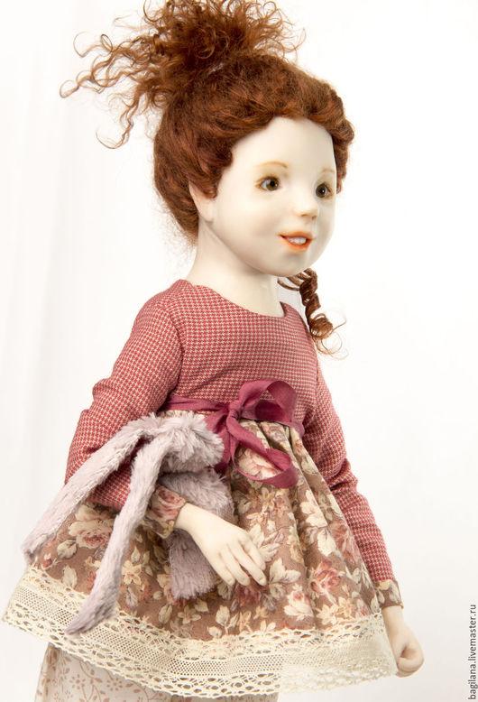 Коллекционные куклы ручной работы. Ярмарка Мастеров - ручная работа. Купить Кукла Анфиса. Handmade. Рыжий, кукла ручной работы