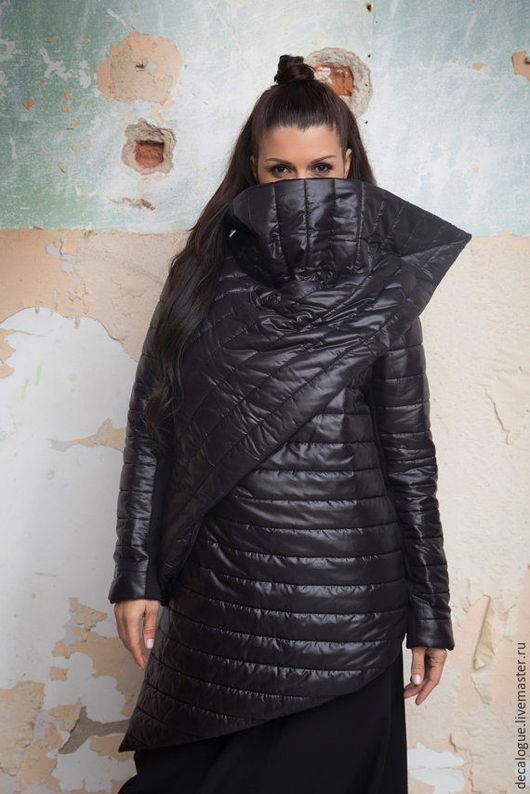 """Верхняя одежда ручной работы. Ярмарка Мастеров - ручная работа. Купить Куртка """"BE INCOGNITO"""". Handmade. Черный, стильная куртка"""