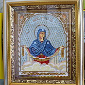 Картины и панно handmade. Livemaster - original item The Icon Of The Holy Virgin. Handmade.