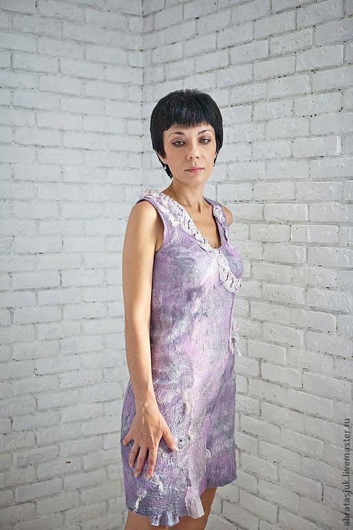 Dresses handmade. Livemaster - handmade. Buy Dress 'Siren'.Handmade, the author's work, silk