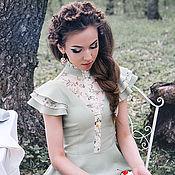 """Одежда ручной работы. Ярмарка Мастеров - ручная работа Платье """" В гостях у лета"""". Handmade."""