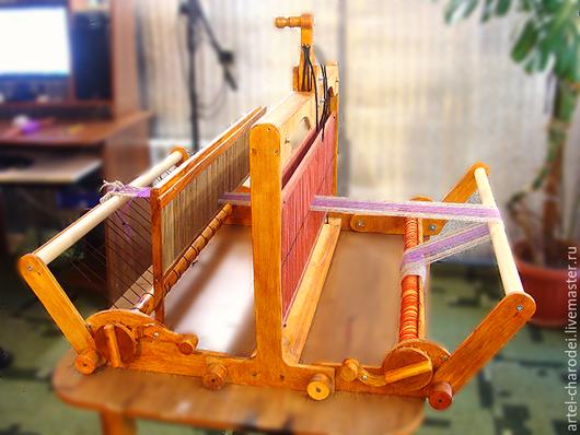 ручной складной настольный ткацкий станок Ярина-2